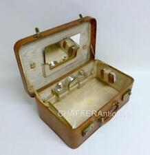 Leather Vanity Cases with Secure (Lock Included)