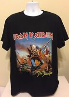 NEW - IRON MAIDEN Band T-Shirt *The Trooper* High Quality - Best deal on eBay