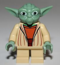 Lego Star Wars Yoda Clone Wars Tan Minifig NEW