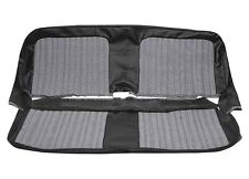 1967-72 PUI Brand Chevy Pickup Front Bench Seat Upholstery, Houndstooth Cloth