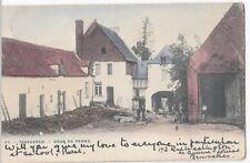 Belgium; Tervueren, Farmyard, PPC, 1918 PMK To Miss Chambers, Hawarden