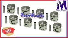 Ford Mercury 239 Flathead V8 1939-53 SEALED POWER 1003NP30 Pistons 8-PACK .030