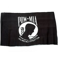 Small 12 Inch X 20 Inch Replacement Flag For Whip Antenna POW MIA
