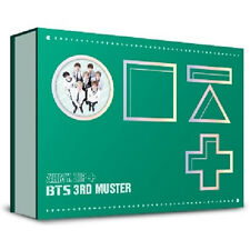 BTS 3RD MUSTER [ARMY.ZIP+] DVD 3 DISC+FREE GIFT+Photobook+Story Book+Photo Card