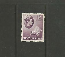 Seychelles GV1  1938 12c reddish-violet    SG 139 Mint hinged