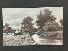 Vintage Postcard: #75: A Day In The Hayfields I Paulman