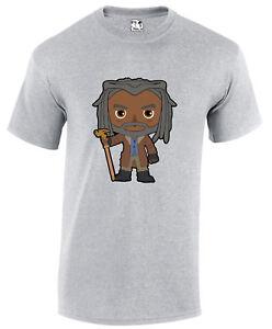 Ezekiel Walking Dead Cartoon Zombie Apocalypse Horror Movie T-shirt