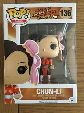 POP! Games STREET FIGHTER Chun-Li Rosa esclusivo POP! Figura in vinile 136