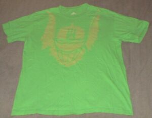 ADIDAS BEAST MODE SEATTLE SEAHAWKS Size Large Green NFL Football T-Shirt EUC