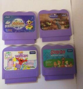 Vtech V.Smile Lot of 4 Games Zayzoo Ratatoullie Scooby-Doo! Elmo's World