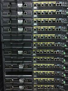 Cisco 7301-AC Router 1G/128 3GE Ports NPE-G1 90 days Warranty