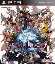 (Used) PS3 Final Fantasy XIV: newborn Eoruzea A REALM REBORN Import Japan