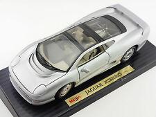 Maisto 50206 Jaguar XJ 220 Silber 1992 1:18 mit Sockelplatte 1603-05-65