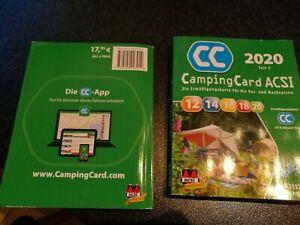 ACSI Campingführer 2020 für die Vor- und Nachsaison Deutsch *wie NEU*
