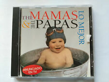 CD THE MAMAS & THE PAPAS - LO MEJOR - MCA SPAIN 1994 VG+