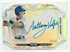 2020 Bowman Sterling ANTHONY VOLPE Die-Cut REFRACTOR AUTO /99 Yankees Autograph