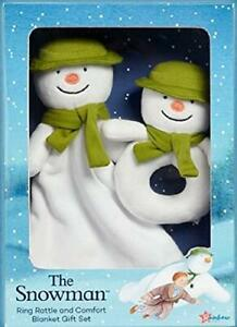 The Snowman Rattle and Comforter Gift Set