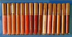 REVOLUTION - Liquid Lipsticks - Matte/Metallic - Choose Shade - Brand New!