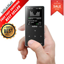 Mp3 Bluetooth Music Player Fm Radio W/ Earphone Max Support 128 Gb Micro Sd Card