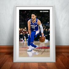 Ben Simmons Autographed Poster Print. A3 A2 A1 Sizes