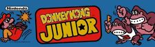 Donkey Kong Jr Dedicated Arcade Marquee – 22.3″ x 5.8″