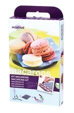 KIT MACARONS CAKE DESIGN TAPPETO TAPPETINO SILICONE SAC A POCHE MASTRAD F45360