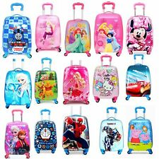 Kids Toddler carry On Hard Shell Cartoon Suitcase/Luggage Light Weight Sydney