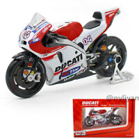 1/18 Moto Diecast Motorbike Bike For Ducati No.04 Andrea Dovizioso Children Toy