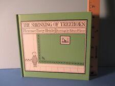 Edward Gorey illustrator SHRINKING OF TREEHORN  writ by  F P HEIDE hc 2011 1st