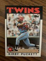 1986 Topps  #329  Kirby Puckett Minnesota Twins NrMt