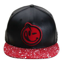 NEW Authentic YUMS New Era Classic Speckled Black/Red/White Snapback 519S