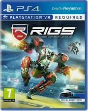 Rigs Mechanized Combat League (VR Required) Playstation 4 PS4  NEW