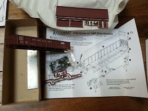 2007 Accurail 3700- 41' AAR Steel Gondola Virginian & Ohio  - HO Scale Kit Red