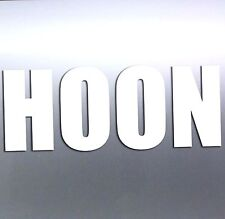 HOON Sticker for hooning cars and 4x4 4wd Burnout 200 x 80 mm *Premium quality*