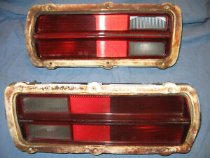 76 PLYMOUTH VOLARE  REAR TURN SIGNAL LENS ASSEMBLIES LEFT & RIGHT 77 78 RUNNER