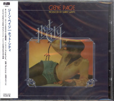 GENE PAGE-HOT CITY (EXPANDED EDITION)-IMPORT CD WITH JAPAN OBI E78