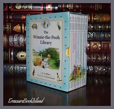 Winnie the Pooh Library by A. Milne New Sealed Hardcover 12 Volume Box Gift Set
