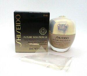 Shiseido Future Solution LX Total Radiance Foundation ~ Natural Fair Beige B40 ~