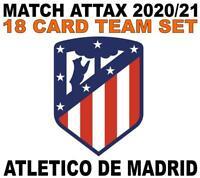 Match Attax Champions League 2020/21 ATLETICO DE MADRID 18 card team set UK  ED