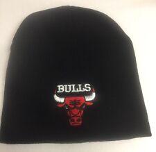 Chicago Bulls Black Beanie, New Winter Hat , Scull Cap