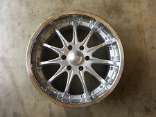 "20"" SPEEDY Wheels style Extreme   20x8.5 Sliver finish 6 lug  6x5.5 et +18"