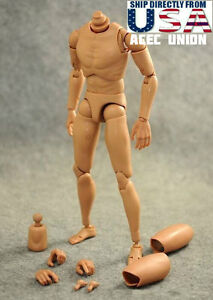 1/6 Narrow Shoulder Male Figure Body For Hot Toys TTM18 TTM19 TTM21 USA SELLER