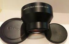 CANON C-8 Tele converter 1.4 x 67 lens pour camera CANON 1014 xl-s et 814 xl-s