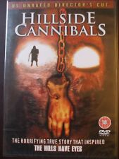 The Hillside Cannibals DVD.US Unrated Director's Cut.BRAND NEW AND SEALED