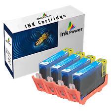 4 Cyan NonOEM  Ink Cartridges For HP 364XL Photosmart Plus B209a B209c B210a