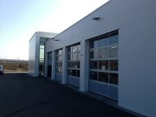 ALU Industrietor Tor Garagentor Rolltor Sektionaltor Glastor, 3 x 3 Meter, NEU