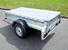Flachplane PKW Anhänger Anhängerplane Schutzplane 152x106x7cm Top Qualität Neu