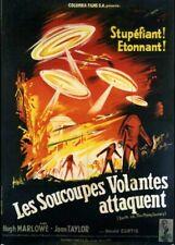affiche du film SOUCOUPES VOLANTES ATTAQUENT (LES) 120x160 cm