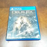 Deus Ex: Mankind Divided Day One Edition for PlayStation 4 Disc Only Free Ship