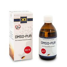 DMSO 250ml Dimethylsulfoxid  99,9% Reinheit (Ph.Eur), Braunglas, Made in Germany